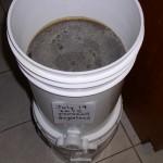 Pressed Honey in Bucket with Honey Gate